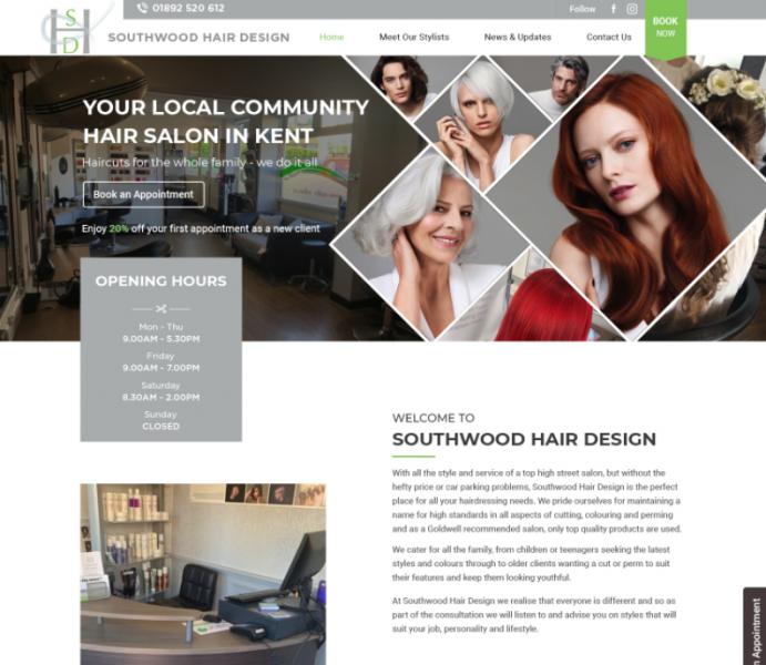 New Southwood Hair Website